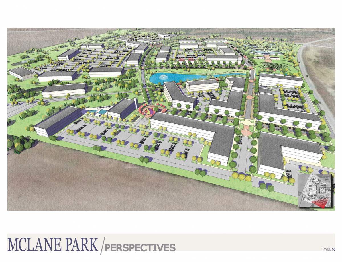 A vision for The Lakes at Central Pointe in Temple, Texas.